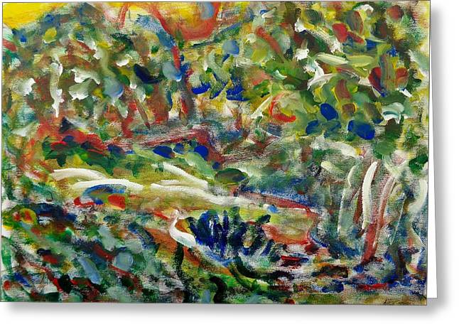 Expressionism Greeting Cards - Humber River 1 Greeting Card by Chiho Yoshikawa