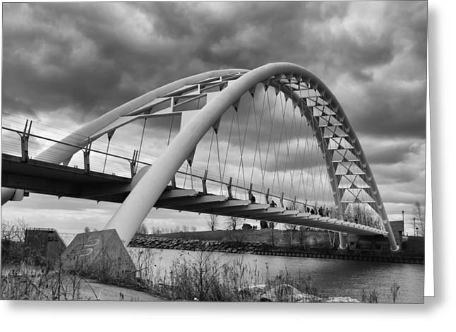 Guy Whiteley Photography Greeting Cards - Humber River Arch Bridge 1385 Greeting Card by Guy Whiteley