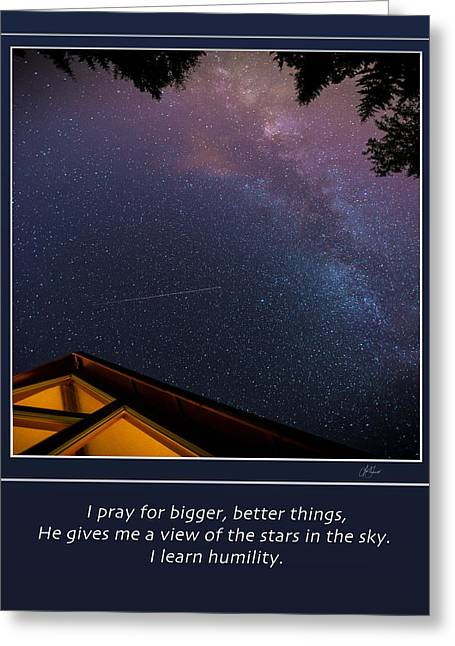 I Ask Greeting Cards - Humility Greeting Card by Lori Grimmett