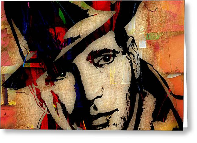 Humphrey Bogart Greeting Cards - Humphrey Bogart Collection Greeting Card by Marvin Blaine