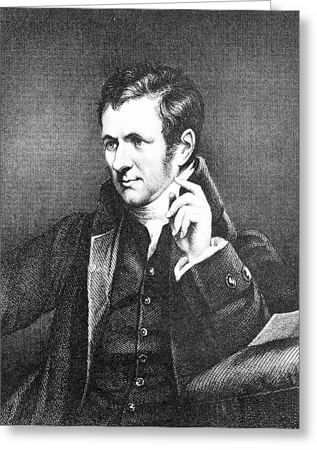 Humphrey Davy Greeting Card by Science Photo Library