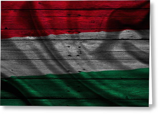 Continent Greeting Cards - Hungary Greeting Card by Joe Hamilton