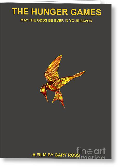 Hunger Games Greeting Card by Marvin Blaine