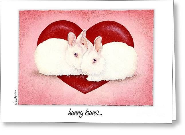 Bullis Greeting Cards - Hunny Buns... Greeting Card by Will Bullas