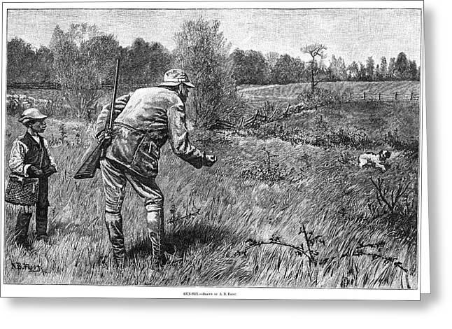 Hunter, 1880 Greeting Card by Granger