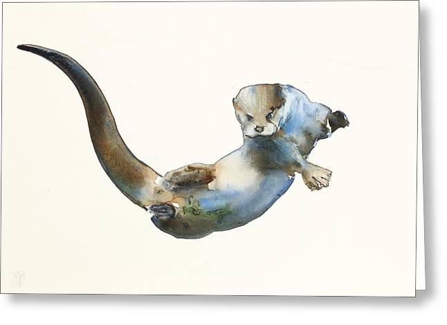 Hunter Greeting Card by Mark Adlington