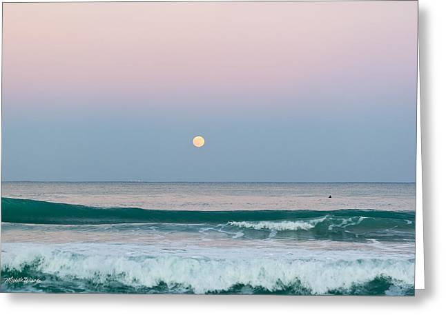 Michelle Photographs Greeting Cards - Hunters Moonrise Greeting Card by Michelle Wiarda