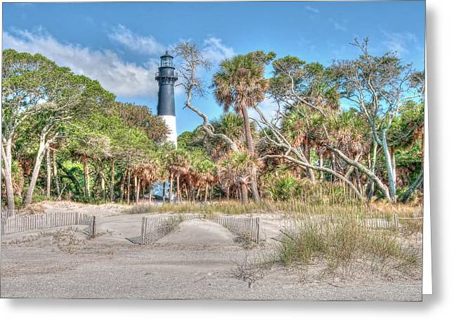 Counry Greeting Cards - Hunting Island - Beach View Greeting Card by Scott Hansen