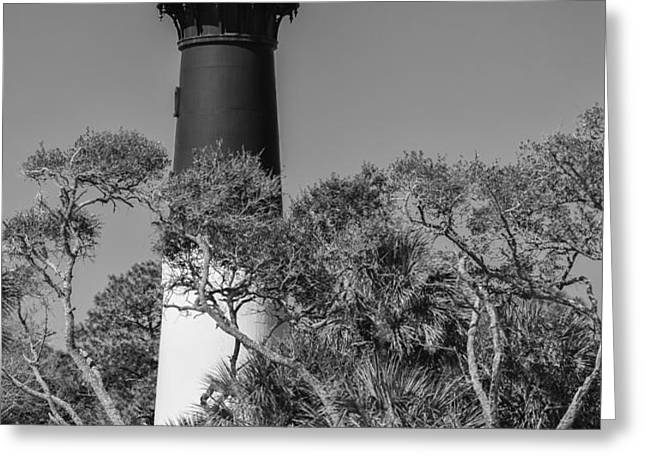 Hunting Island Light Greeting Card by Brian Young