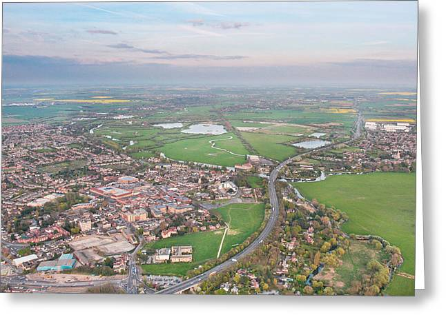Height Greeting Cards - Huntingdon Greeting Card by Tom Gowanlock