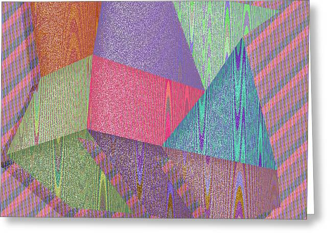 Shapes Greeting Cards - Huntington Greeting Card by Gareth Lewis