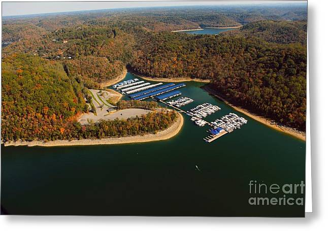 The Nature Center Greeting Cards - Hurricane Marina  Greeting Card by Louis Colombarini