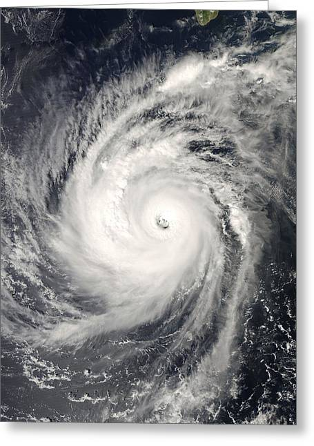 Devastated Greeting Cards - Hurricane Norbert, 2008 Greeting Card by Science Photo Library