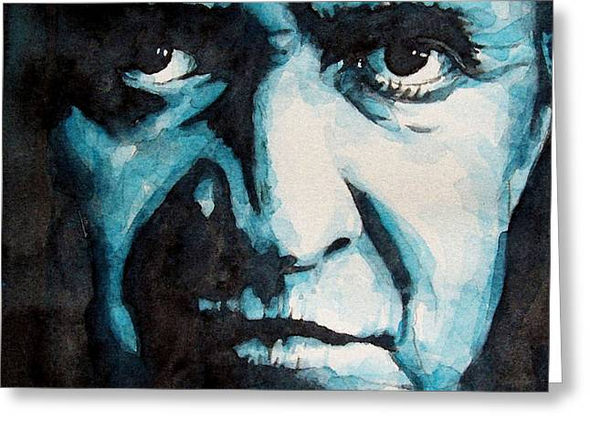Actors Greeting Cards - Hurt Greeting Card by Paul Lovering