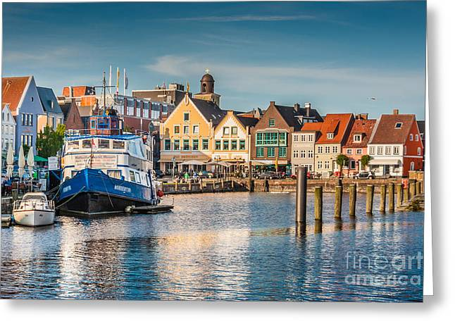 Husum Greeting Card by JR Photography