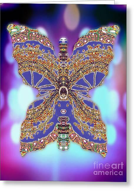 Archangel Ariel Greeting Cards - Hyacinth Hazelwhisk Greeting Card by Raymel Garcia