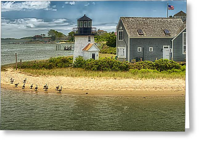 D700 Greeting Cards - Hyannis Lite HDR Greeting Card by Jack Torcello