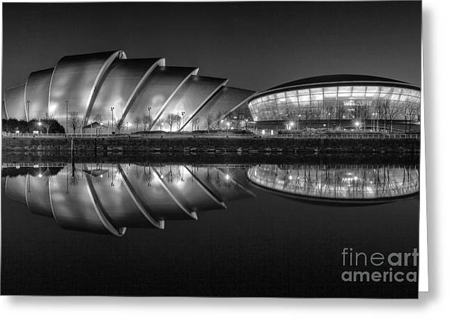 Night Scene Prints Greeting Cards - Hydro and Armadillo Greeting Card by John Farnan