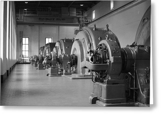 Francis Greeting Cards - Hydroelectic turbines Greeting Card by Riccardo Mottola