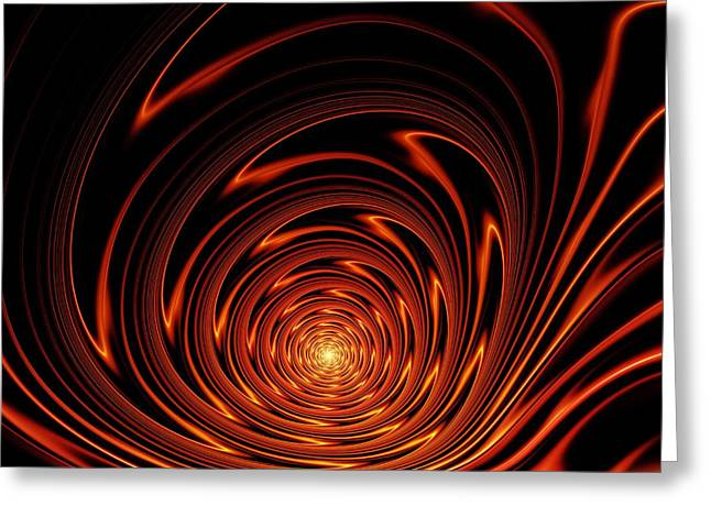Trance Greeting Cards - Hypnosis Greeting Card by Anastasiya Malakhova