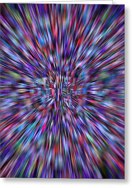 Hypnotherapy Greeting Cards - Hypnotizing Love Greeting Card by R-A Kaka