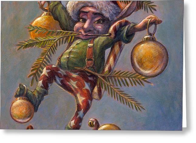 I Am a Tree Greeting Card by Leonard Filgate