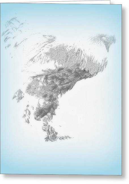 Weather Cock Greeting Cards - Hold On To Me Greeting Card by Hilde Widerberg