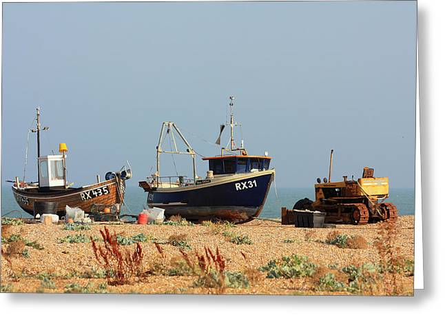 Colin Hogan Greeting Cards - I am not a boat - ref 4967 Greeting Card by Colin Hogan