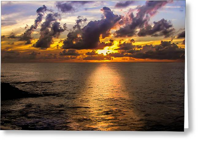 The Sun God Photographs Greeting Cards - I AM the LIGHT Greeting Card by Karen Wiles