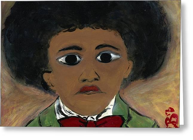Frederick Douglass Greeting Cards - I AmFrederick Douglass Greeting Card by The Robert Blount Collection