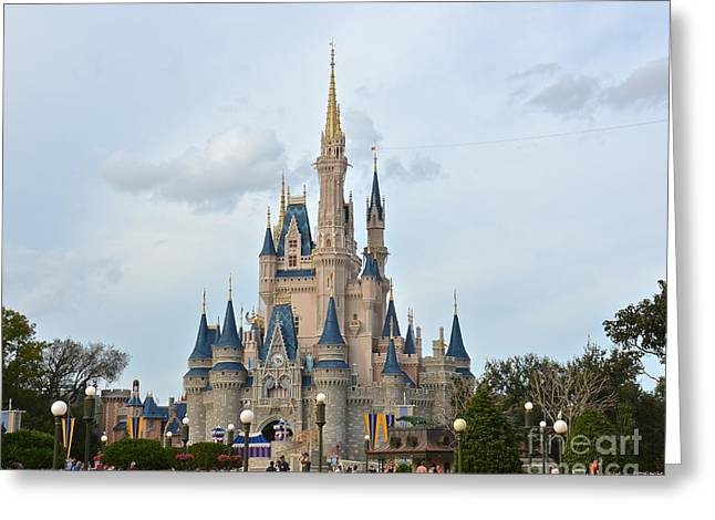 Wdw Greeting Card featuring the photograph I Believe In Magic by Carol  Bradley