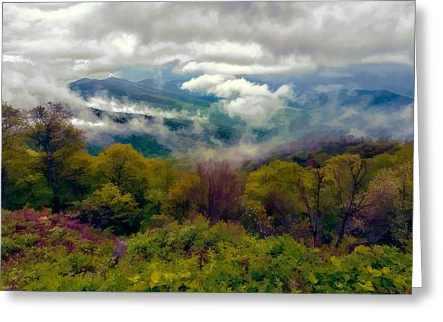 Storm Prints Photographs Greeting Cards - I Can See For Miles and Miles II Greeting Card by Dan Carmichael