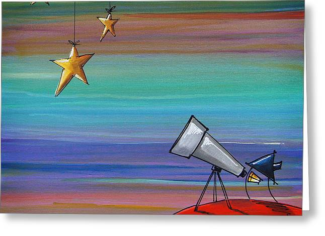 Astronomers Greeting Cards - I Finally Found You Greeting Card by Cindy Thornton