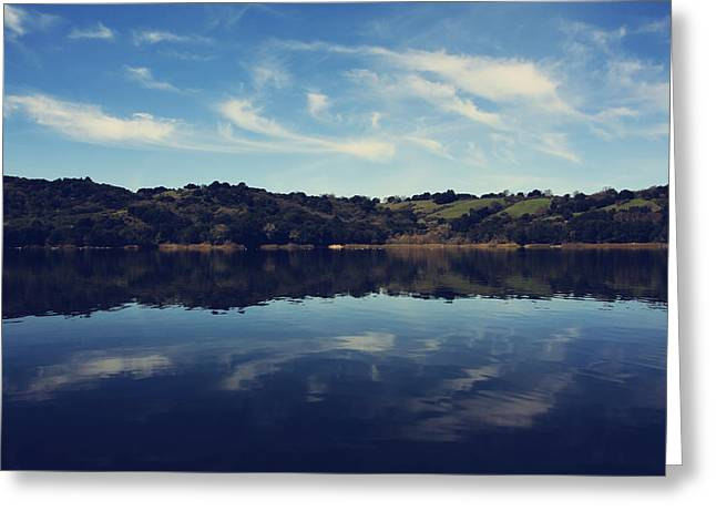 Body Of Water Greeting Cards - I Float On Anyway Greeting Card by Laurie Search