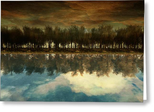 Surreal Landscape Greeting Cards - I Forget What Eight Was For Greeting Card by Whiskey Monday