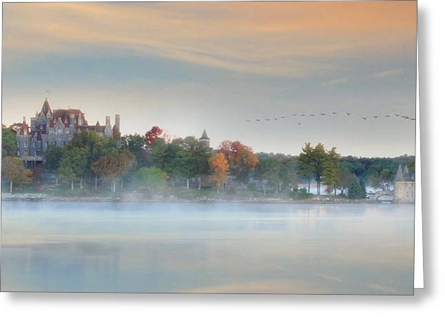 Bay St. Lawrence Greeting Cards - I Get Misty Greeting Card by Lori Deiter