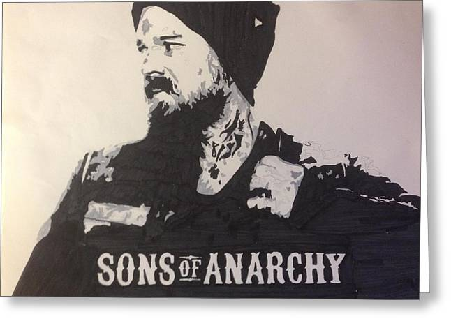 Sons Of Anarchy Greeting Cards - I Got This Greeting Card by Brad Leach
