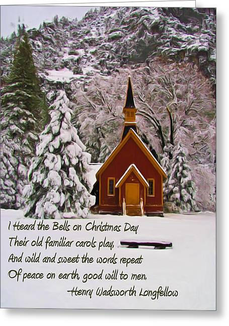 Christmastime Greeting Cards - I Heard the Bells Greeting Card by Heidi Smith