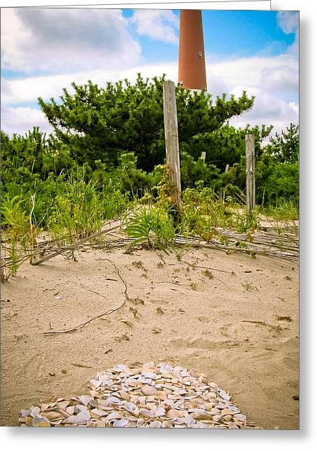 Photography By Colleen Kammerer Greeting Cards - I Heart LBI Greeting Card by Colleen Kammerer