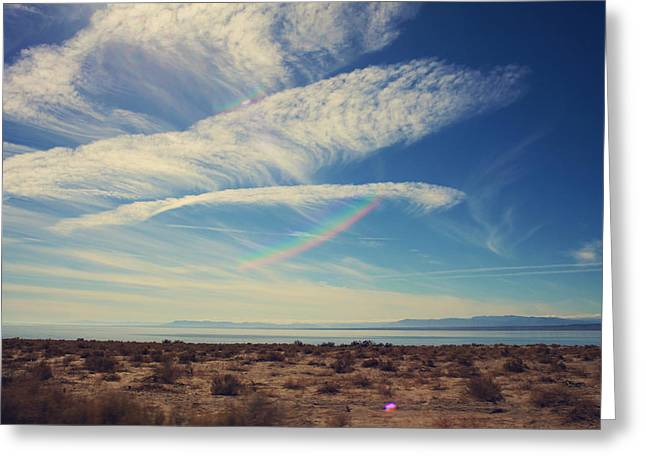 Salton Sea Greeting Cards - I Hope and I Dream Greeting Card by Laurie Search