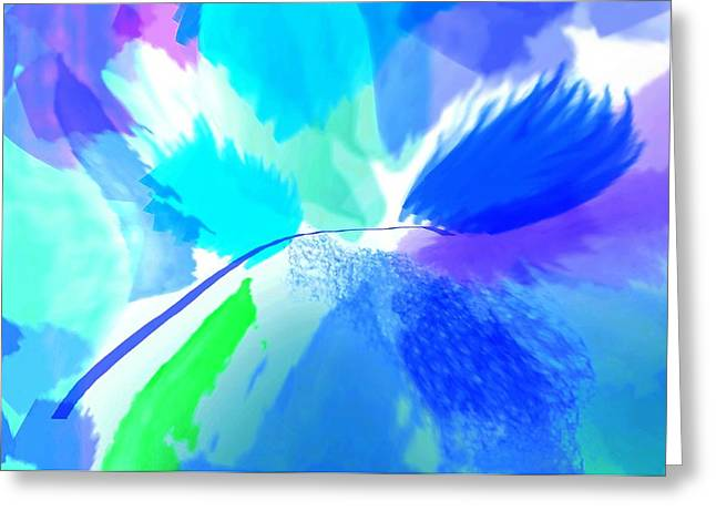 Modern Digital Art Digital Art Photographs Greeting Cards - I Knew You Would Greeting Card by Diana Angstadt