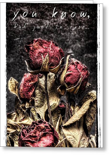 Saint Hope Greeting Cards - I know you know Greeting Card by Weston Westmoreland