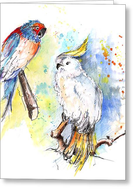 I Like Your Style Greeting Card by Miki De Goodaboom