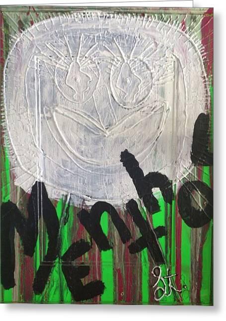 Discrimination Greeting Cards - I Love Menthol Smokes Greeting Card by Lisa Piper Menkin Stegeman