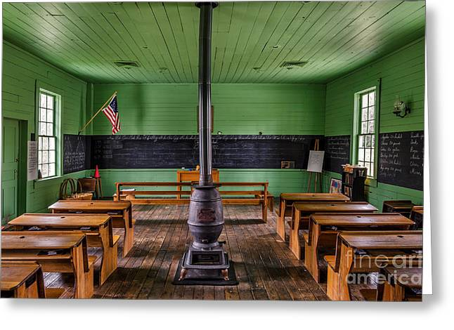Oak Hill Greeting Cards - I Pledge Allegiance Greeting Card by Anthony Heflin