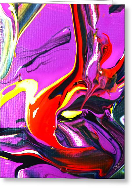 Dismay Paintings Greeting Cards - I Read The News Today Greeting Card by Douglas G Gordon