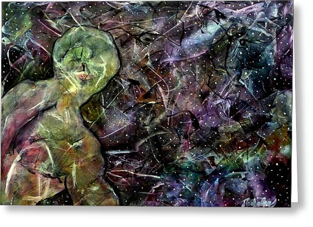 Joni Greeting Cards - Stardust - I Sing the Body Electric Greeting Card by Jim Whalen