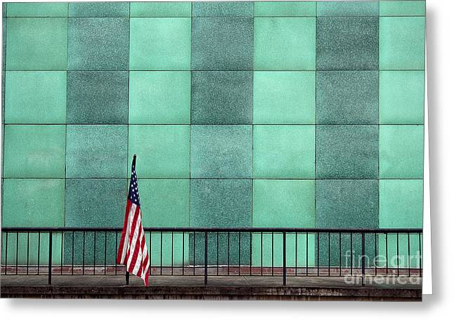 I Love America Greeting Cards - I Stand Alone Greeting Card by T Lowry Wilson