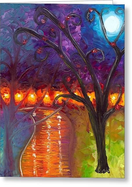 Jessilyn Park Greeting Cards - I Think Were Alone Now Greeting Card by Jessilyn Park