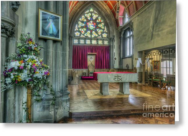 Religious Framed Prints Greeting Cards - I Trust In You Greeting Card by Ian Mitchell
